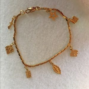 Jewelry - 22K Yellow Gold Charm Bracelet
